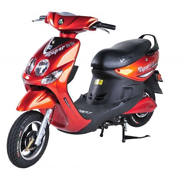 基業電行車業-CHT012-Super GaGa 紅
