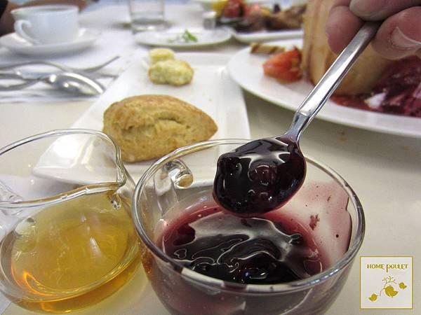 烘布蕾-超推藍莓醬