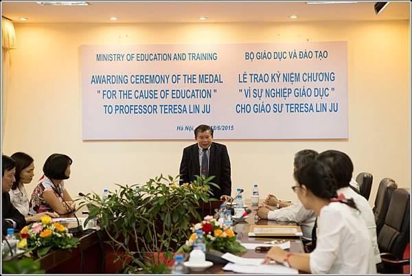 副部長致詞(Vice Minister deliver his speech).jpg