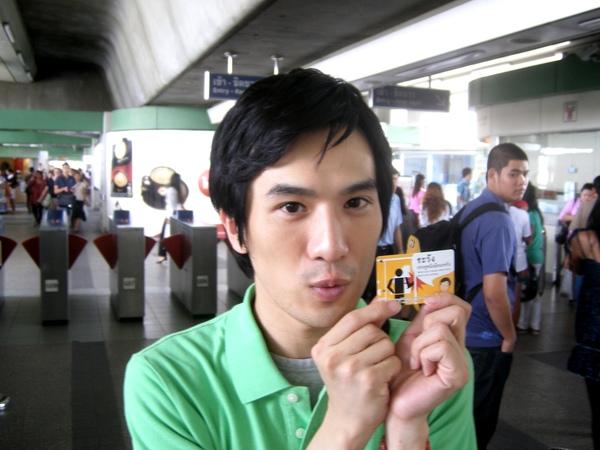 我的泰國捷運首搭ㄟ