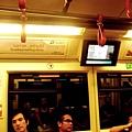 搭著曼谷的空鐵(像不像重慶森林的fu...)