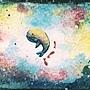 水彩 》》》鯨魚