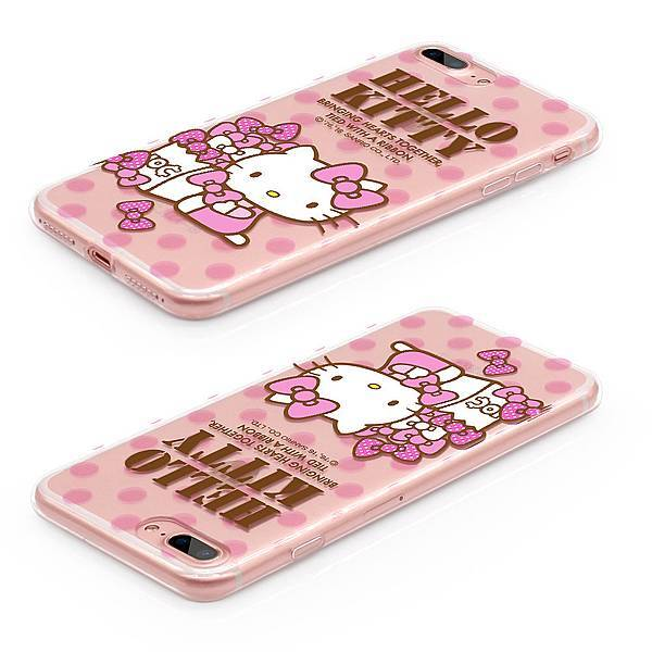 GARMMA Hello Kitty iPhone 7 4.7/5.5吋 空壓氣墊防摔保護軟殼
