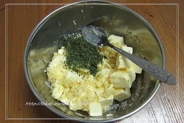自製大蒜奶油麵包抹醬
