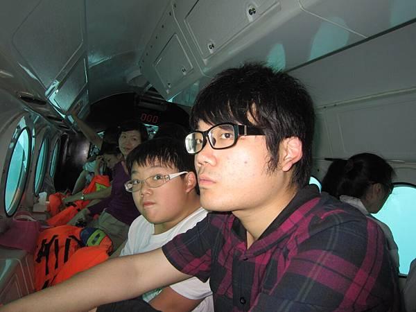 2011.1.29~2.2-峇里島-2-星願灣日遊-2-8(亞特蘭提斯號潛艇~大小少爺).JPG