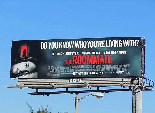 Roommate movie billboard