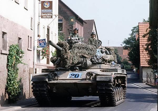 206 010 M60A1戰車駐德國.jpg