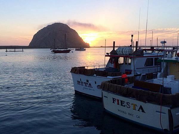 264 010 夕陽下的Morro Bay.jpg