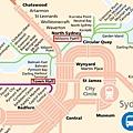 Sydney traffic map