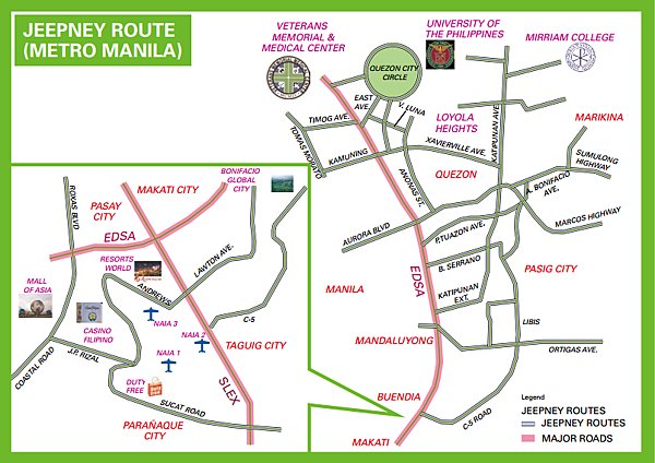 Manila Jeepney Route