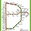 Manila LRT_MRT Route