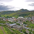 Arthur's seat from Nelson Mounment Tower