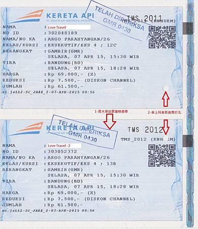 Ticket-Gambir to Bandung
