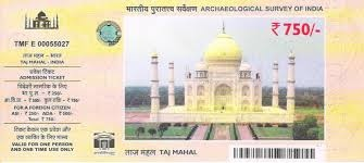「taj mahal admission price」的圖片搜尋結果