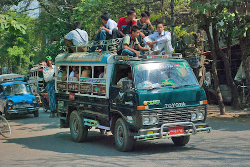 burma-truck