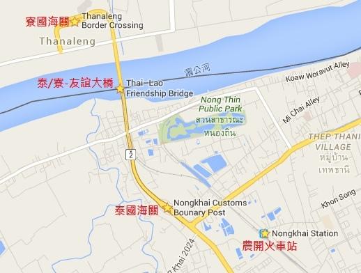 泰寮邊界圖
