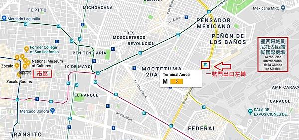 Mexico city Mtero Map.jpg