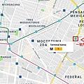 Mexico city Mtero Map.jpg