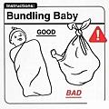 如何包裹嬰兒