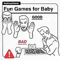 與寶寶玩遊戲