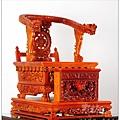 莊嚴威武的桌上形武轎,林新發神佛藝術的創意作品,莊嚴又威風的神明加高座,各式神佛都適用喔!
