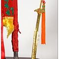 柳絲劍作品-有劍殼的七星劍