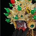 帝君帽/關公帽(台灣手工客製化帝君武盔作品)