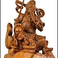 玄天上帝/上帝公(綠檀木、梢楠木、樟木)神像雕刻藝術