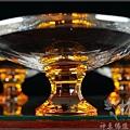 現代水晶佛俱(金黃水晶敬果盤,敬