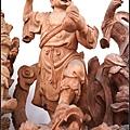 神像藝術-林新發神像創作/古體濟公師傅一體雕刻作品