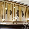 檜木雕刻聯作品/佛道禪心-圓滿心經/祖德流芳-圓滿百壽(台灣純金箔手工貼金)