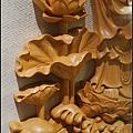藝術雕刻聯/水蓮觀音、阿彌陀佛(客製化藝術創作)