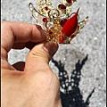 台灣手工柳絲束冠作品/特小太子、五吋六/六吋、柳絲束冠