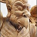 林新發神像藝術-雷公電母/雷震子二郎神/仙女(216分公高特大廟宇神像)