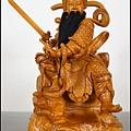 台灣牛樟手工雕刻-玄天上帝藝術作品/客製化神明金身