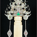 玄天上帝神帽,台灣手工柳絲,最獨一無二的專屬神帽藝術