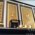佛(心經)、壽(百壽)立體浮雕雕刻聯,台灣手工藝術作品