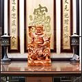 招財進寶雕刻聯-002