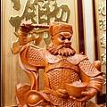 招財進寶雕刻聯-004