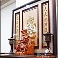 招財進寶雕刻聯-006