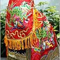 台灣手工福德正神神衣作品(籃鶴袍/紅鶴袍/麒麟袍)