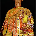 林新發匠心繡藝作品,媽祖神衣創作。