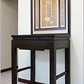 神桌神聯-二尺二黑紫檀禪風、祖德流芳雕刻聯-002 - 複製