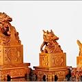 宮印雕刻作品-單龍印/單鳳印/蓮花法輪印