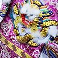 紫色、水藍色系軟身龍袍-005.JPG