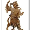 神像-一尺三綠檀木-王天君馬靈官_2.jpg