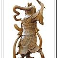 神像-一尺三綠檀木-王天君馬靈官_4.jpg