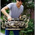 新發佛俱-九龍脫臘爐(尺三.三十五公斤)-001