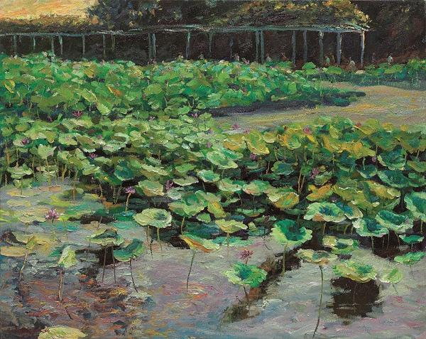 清晨的植物園 30F