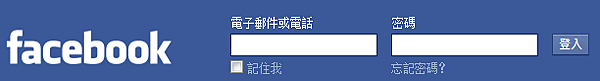 facebook login in